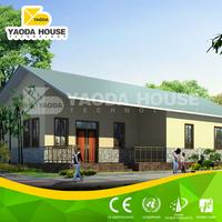 Unique designed eco-friendly 3 bedroom prefab modular home