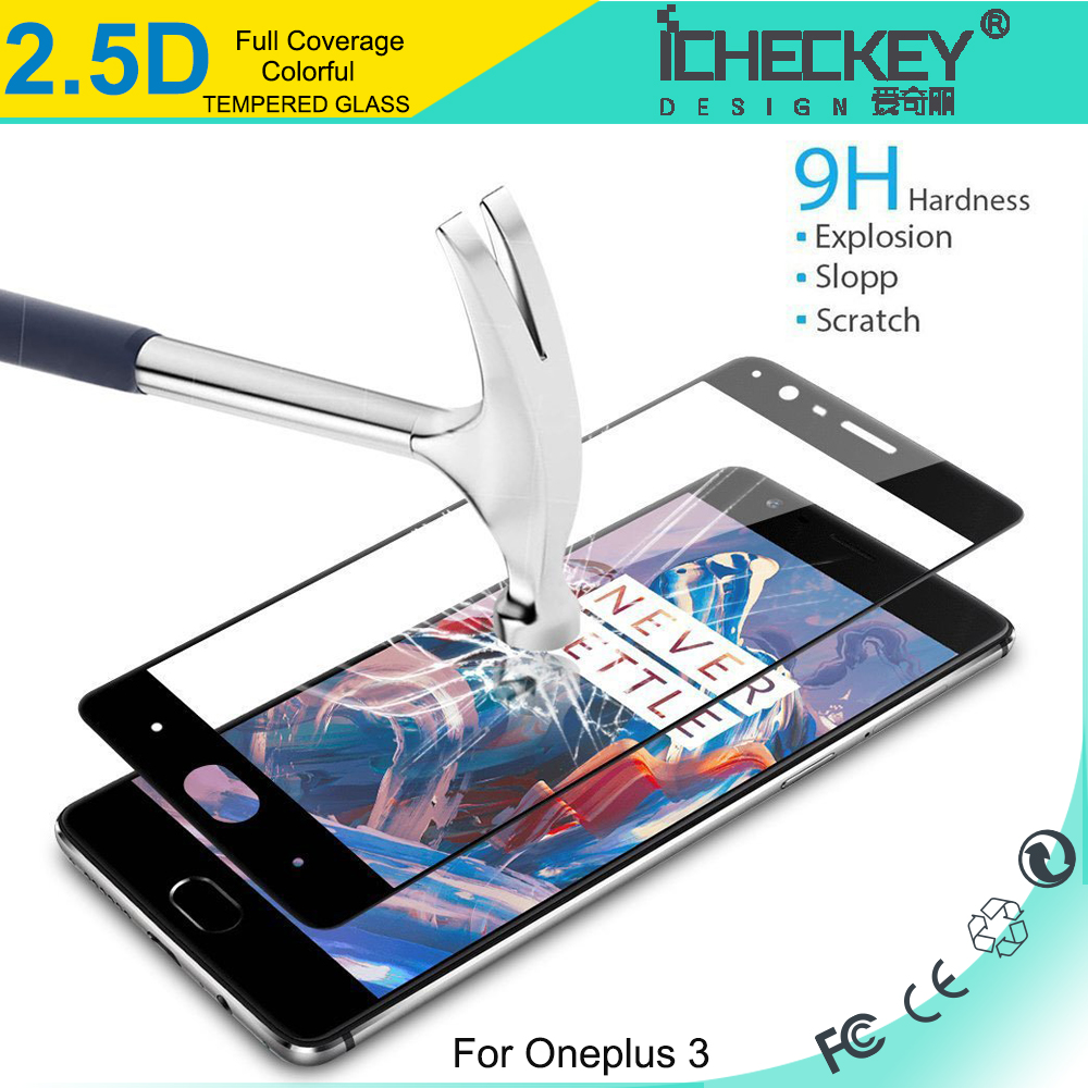 shenzhen factory direct price,full coverage mobile phone film tempered glass screen guard protector for oneplus 3