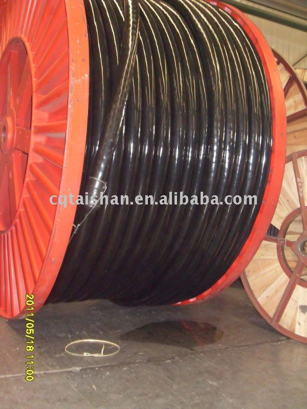 3C*300mm2 XLPE insulation PVC sheath copper cable