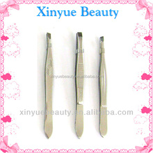 professional stainless steel eyebrow tweezer eyebrow trimmer for beauty