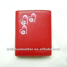 fashion import Mini children's wallet embossed flower Low price popular wallet custom