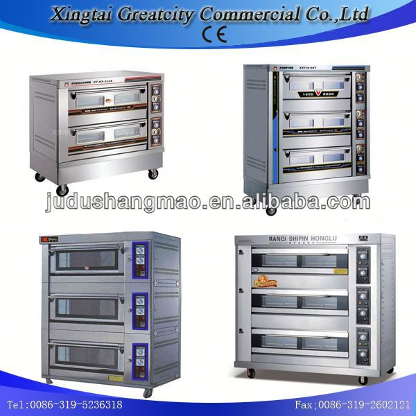 bread gas deck oven