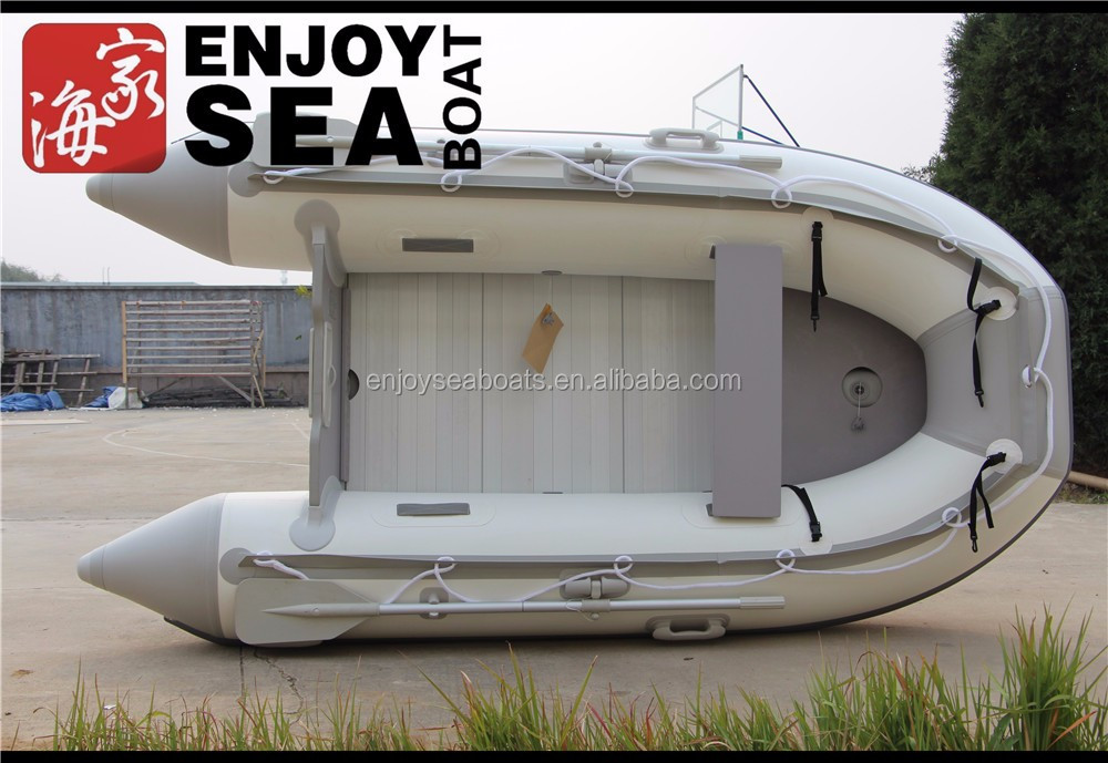 290cm aluminum floor flat bottom inflatable boats for sale!