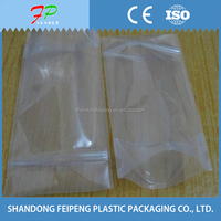 vacuumized plastic packaging bag