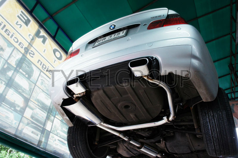 Exhaust System for BMW E46