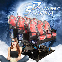 lifelike USA Movies for free 5D Cinema 6D Movie Theater 9D films supplier