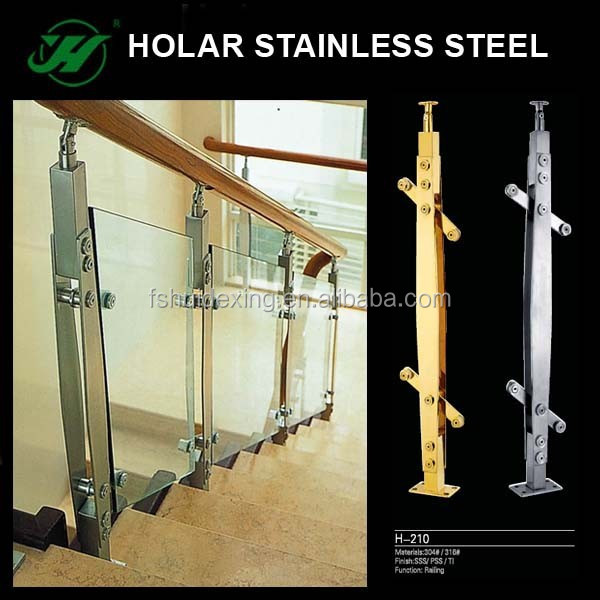 Holar Stainless Steel Interior Glass Railing Systems Indoor Stair Railing Buy Interior Glass