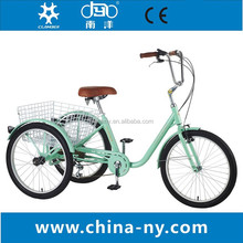 3 wheel adult tricycle wholesale/Cheap cargo bike