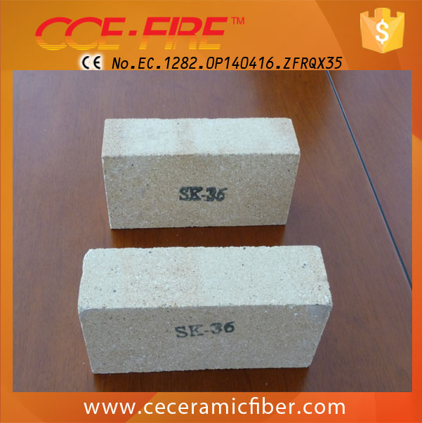 CCE FIRE High Density Refractory Ladle Lining Brick