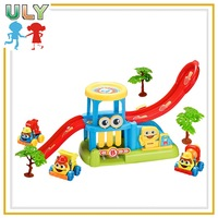Parking Lot Set Toy For Kids Parking Toy With Car