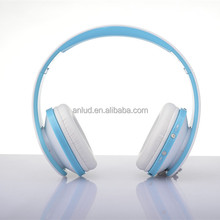 Colorful ALD06 Stereo Over-ear wholesale leather earpiece 2014 best selling bluetooth stereo headset