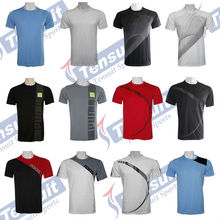 Customize t-shirt (ODM & OEM), OEM tee shirts cheap price, guangzhou tensuit t shirt design