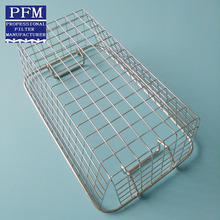 Stainless steel disinfection cleaning basket