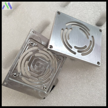 Alibaba trade assurance custom Tumble polished 5052 aluminium parts