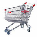 Alibaba China metal shopping trolley cart for supermarket