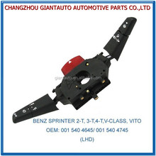 COMBINATION SWITCH FOR BENZ SPRINTER 2-T/3-T/4-T/V-CLASS/VITO OEM:001 540 4645/001 540 4745(LHD)