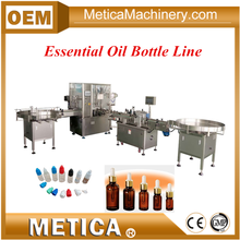 Auto Olive Oil Labeling Filling and Capping Production Line