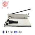 Hot Sale Precision Rotary Heavy Duty Guillotine Manual Paper Cutter