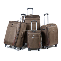 Built-in Caster Luggage Sets Trolley Bag Travel suitcase factory in China