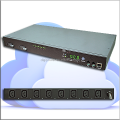 Rack PDU remotely monitor IP PDU IEC socket 32A