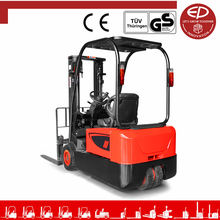 EP 1.5 Ton Three-wheel Electric Forklift Cheap Big Battery Electric Forklift