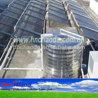 Evacuated Tube Solar Pool Heating Collectors
