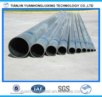 2 inch galvanized steel pipe sizes used for irrigation water pipe