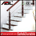 ABLinox Stainless Steel Balustrade Handrail Posts for outdoor terrace / stair / balcony glass railing for sale
