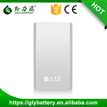 Hot Sale Li-polymer Battery Charger Portable Power Bank 8000mAh