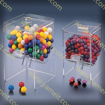 Clear Acrylic Candy Box for Home/Store Storage/Display