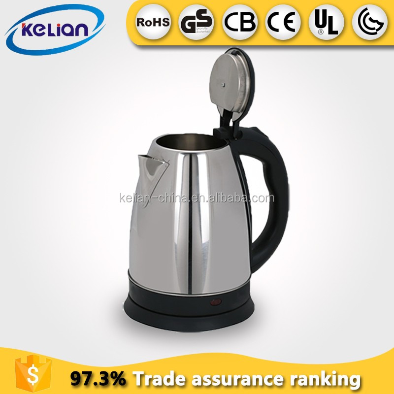 22OV CB CE Rohs small <strong>appliances</strong> superior stainless steel electric kettle