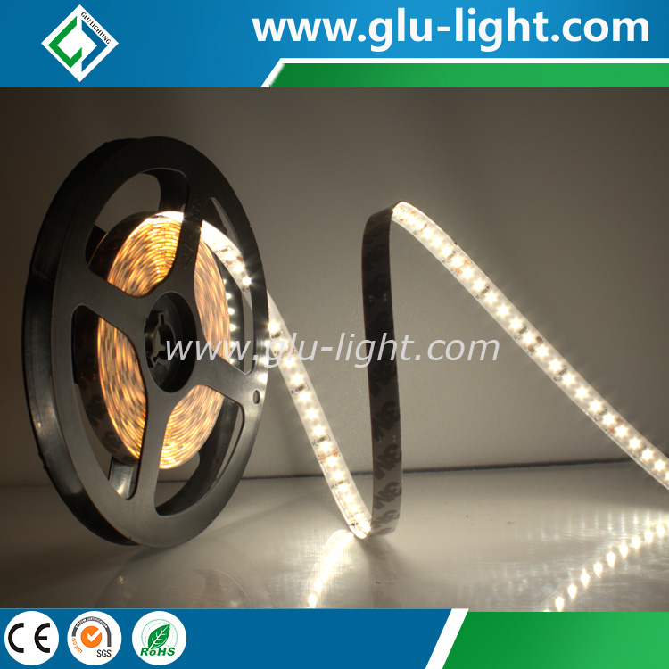 Wholesale china manufacturer 12V/24V 10mm single color Ra90/95 natural white 2835 led flexible strip 120/m
