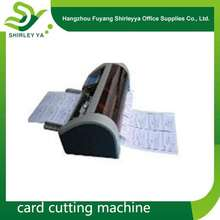 A new brand Shirley-ya automatic business card cutter
