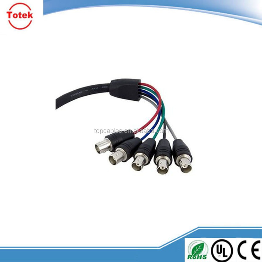 HD 15 M-5BNCM VGA to BNC cable,HIGH QUALITY