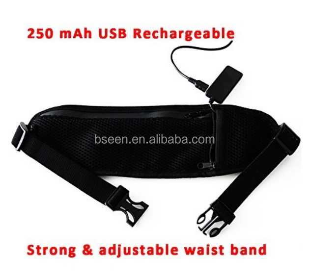 Hot Selling Products Waist Hairdressers Tool Bag Sport Suit Products Glowing LED Belt Waist Bag