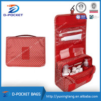 D-POCKET wholesale fashion foldable ladies toiletry bag