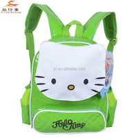 1385 Kids School bags in 2015 Cute Hello kitty children backpack for girl