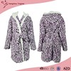 High Quality New Style OEM Design Fleece Brand Name Bathrobe