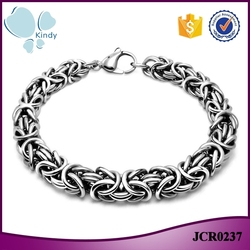 Kindy jewelry JCB0237 new design 316l stainless steel metal motorcycle chain bracelet