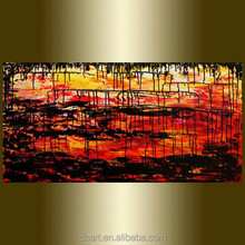 Modern abstract new design knife palette paintings canvas artwork for sale