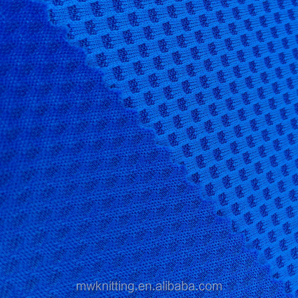 Hexagonal Waterproof Ripstop Tricot Mesh Fabric