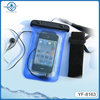 China supplier Wholesale new style waterproof cellphone bag with string and earphone for water sports