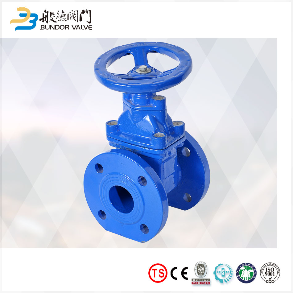 pn10 dn150 epdm seat cast iron worm gear gate valve