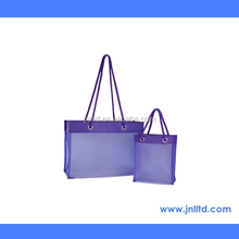Promotional Colored PVC Shopping Tote