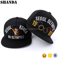 From China Manufacturer 3D Embroidery Make Create Custom Design Your Own Logo Snapback Hat