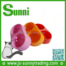 Promotional high quality cheap biodegradable suction cup pet bowl from manufacturer