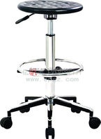 High Quality Lab Stool, PU Lab Stool, Adjustable Stool With Wheels