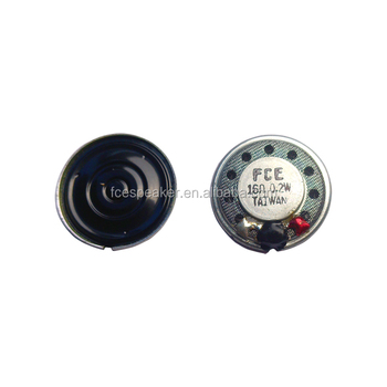 20mm 16ohm 0.2W small thin mylar speaker