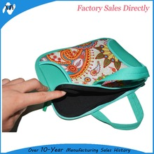 2015 beautiful silk screen custom women briefcase for laptop