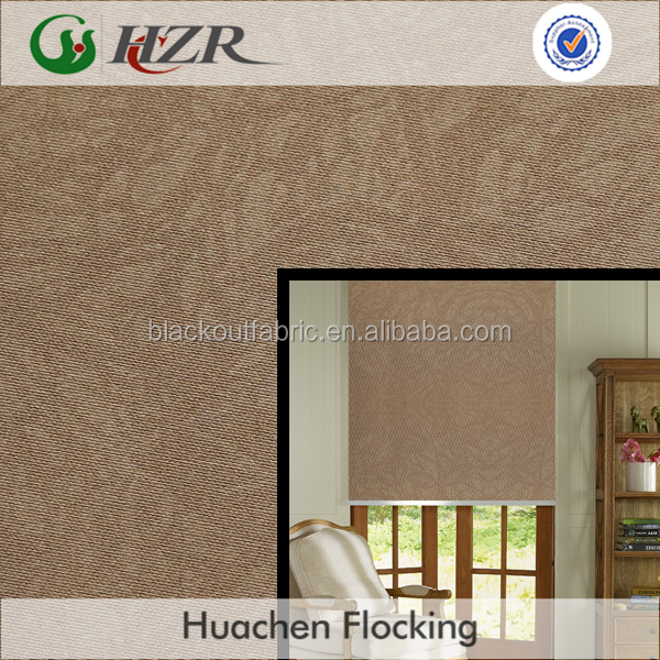 Embossed Oriented Faux Silk Fabric for Blackout Curtain